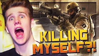 KILLING MYSELF IN COMPETITIVE.. | CSGO Competitive Funny Moments w/The Pack