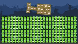 Bad Piggies - REAL 1000 PIGGIES!! (Field of Dreams)