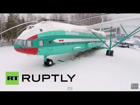 Helikopter Raksasa Mil V-12 yang Dibangun Uni Soviet (Indonesia)