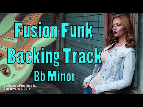 Fusion Funk Backing Track Bb Minor Happy City Jazz