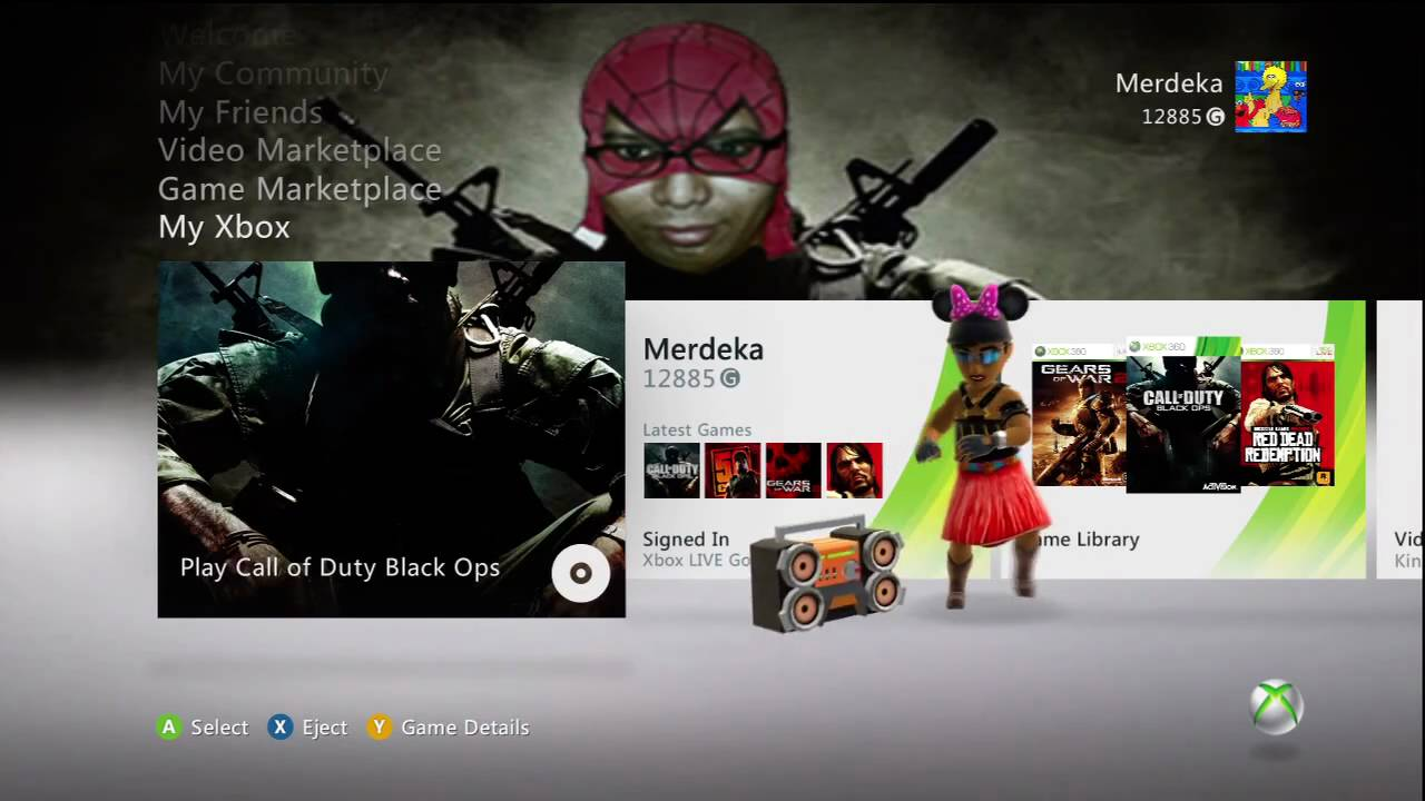 How To Change The Xbox 360 Dashboard Wallpaper Hd