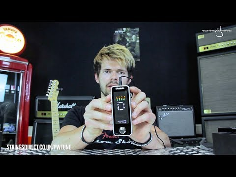 Strings Direct TV | Unboxing D'Addario & Planet Waves Chromatic Pedal Tuner