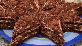 Торт Ирис простой быстрый и оочень вкусный торт
