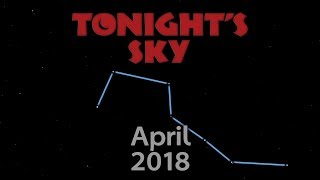 Tonight's Sky: April 2018