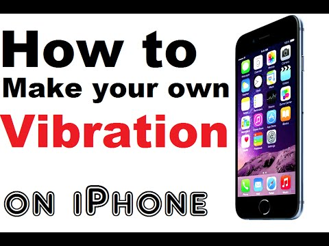 How to Make your own Vibration on iPhone - iPhone Tips and Tricks