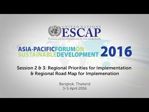 APFSD 2016: Session 2 & 3