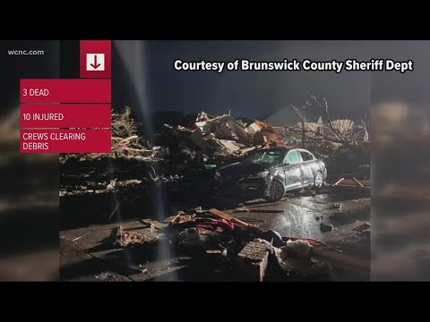 Three fatalities confirmed in Brunswick County tornado, multiple ...
