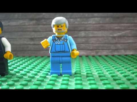 Across Five Aprils in LEGO