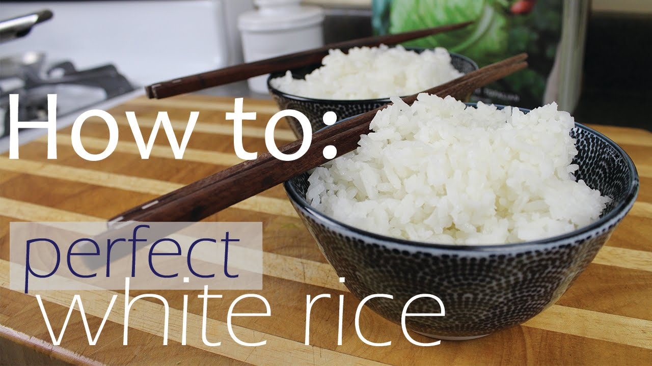 Rice To Water Ratio  How To Cook Perfect Rice
