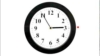 Изучаем время по часам со стрелками.Часы. Часть 4.