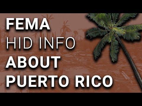 Trump's FEMA Caught Hiding Reality of Puerto Rico Disaster