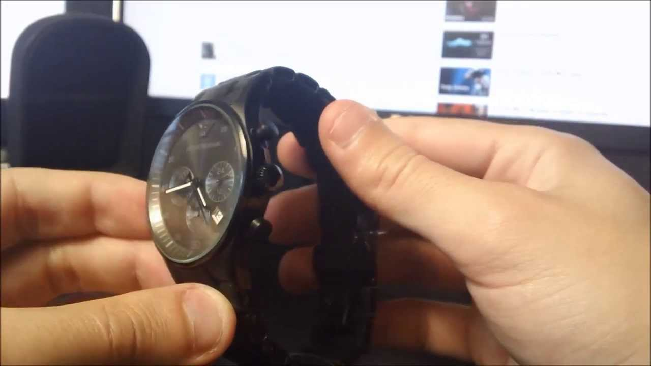 great look best service sale uk Unboxing Emporio Armani AR5889 - Best Men's Watch Under 300