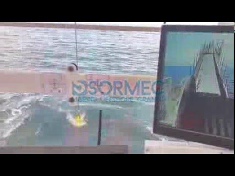 Sormec 50t AHC crane  - Subsea test