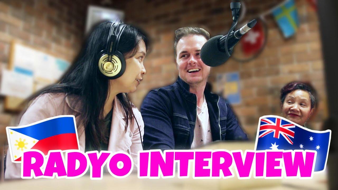 WE WERE ON THE RADIO IN AUSTRALIA!