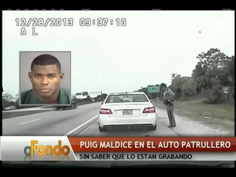 Divulgan video completo del arresto del pelotero Yasiel Puig - América TeVé