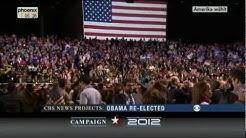 Obama als Präsident wiedergewählt - PHOENIX VOR ORT LIVE Amerika hat gewählt