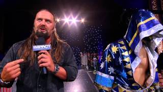 Austin Aries Has a Special Guest to gain retribution from James Storm and Sanada (Sept. 9, 2014)
