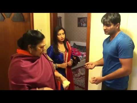 """BRUSH"" With Naz Gill TAYI Surinder Kaur | Punjabi Funny Video"