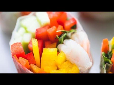 shrimp-and-veggie-spring-rolls