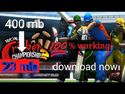 Download WCC 2 In 23mb Super HIGHLY COMPRESSED GAME For Your Android Device