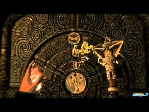 Skyrim golden claw door rings puzzle solution