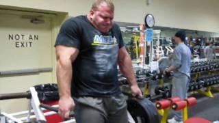 Derek Poundstone Arnold Classic Training Teaser