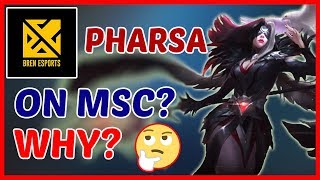 The Pharsa Strategy of Aether Main (Bren Esports) | Draft Pick Analysis - Mobile Legends