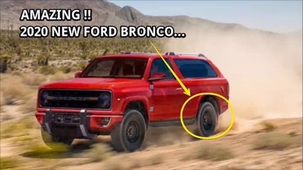 Ford Bronco 2020 Price | 2017, 2018, 2019 Ford Price ...