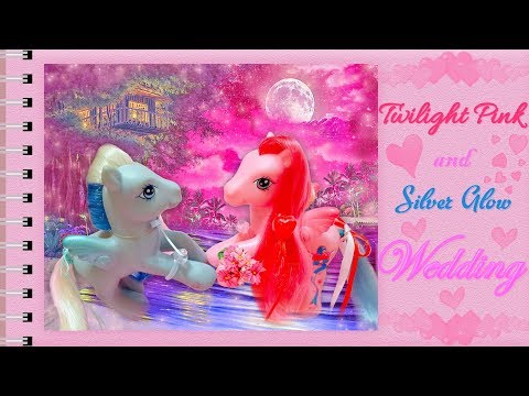 ♥-twilight-pink-&-silver-glow-wedding-♥-/-my-little-pony-/-valentines-day-special
