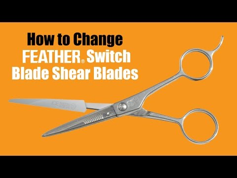 Feather F1-05-165 6½'' Switch Blade Shear video_1