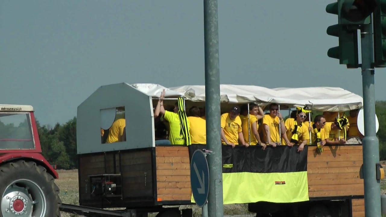 Gladbach - Dortmund: Alternative Anreise aus Wesel per Trecker