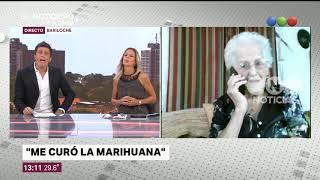 Se salvó gracias al aceite de cannabis -  El Noticiero de la Gente