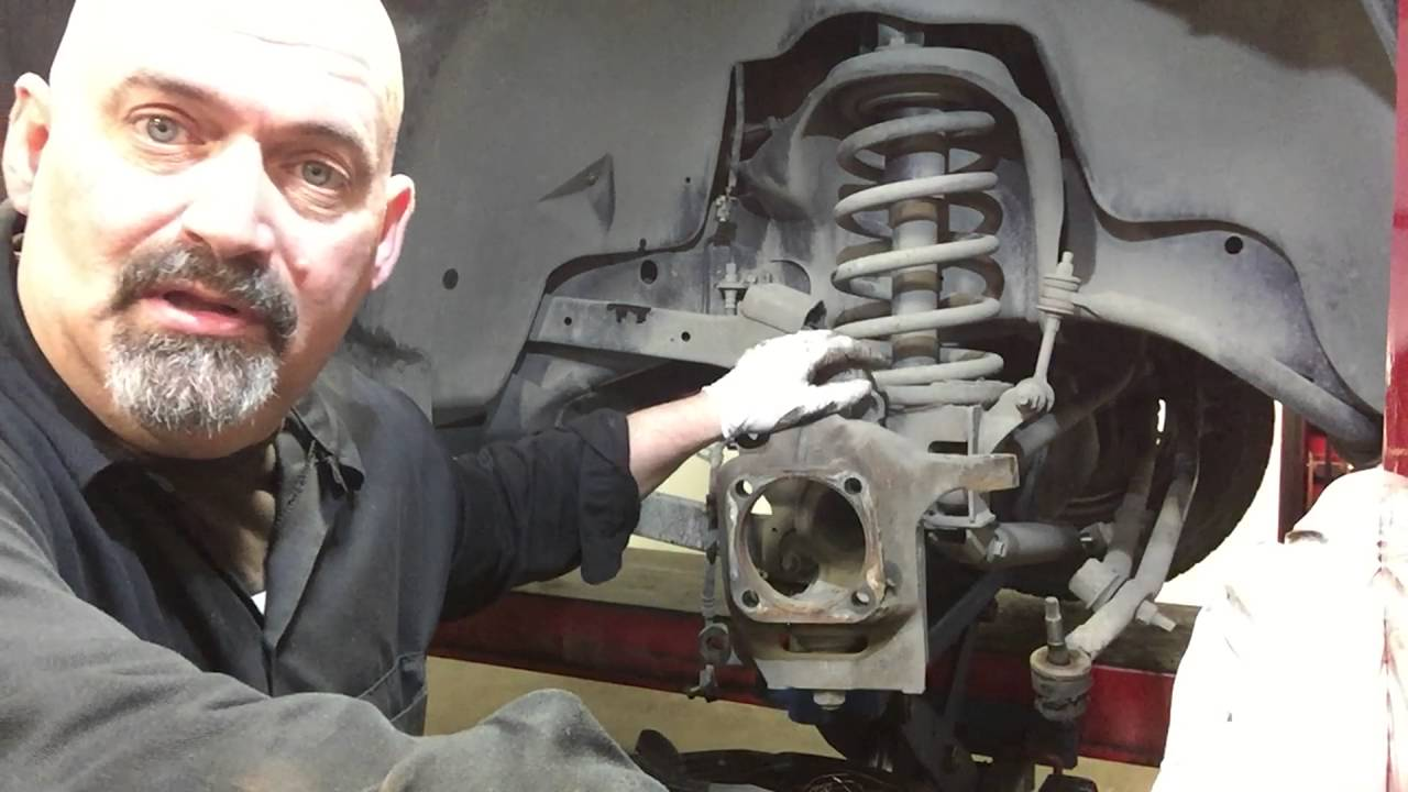 small resolution of replace dodge ram ball joints tie rods and brakes