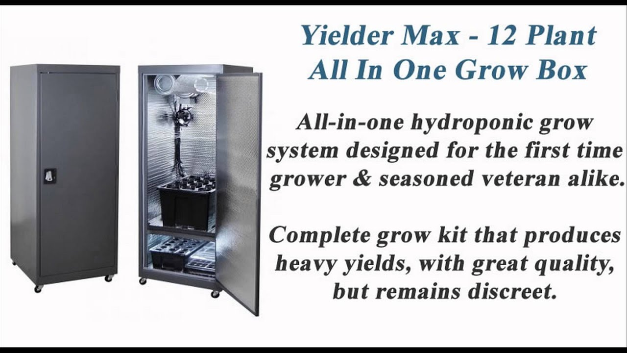 Best Hydroponic Grow Boxes For Sale Youtube