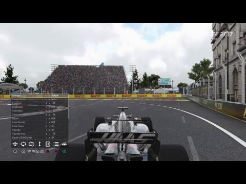 Manolo76's Live PS4 Broadcast F1 2017 Azerbaijan qualification