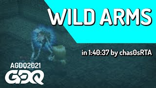 Wild Arms by cha0sRTA in 1:40:37 - Awesome Games Done Quick 2021 Online