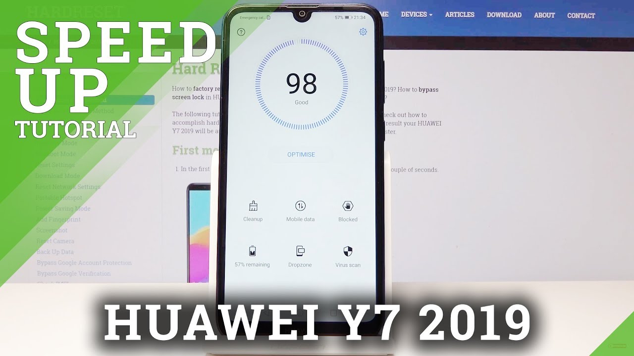 How to Speed Up Huawei Y7 2019 - HUAWEI Optimization