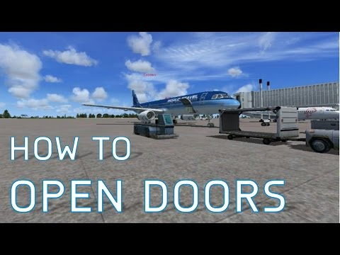 FSX How to Open Doors, Cargo Doors and More | NEW VERSION OUT! | Season 1 Episode 7