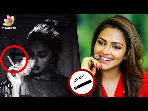 After Liquor, Amala Paul's Controversial Smoking