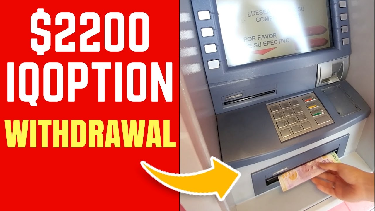 IQOPTION REAL Withdrawal Proof ???? - Binary Options