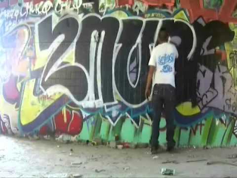 GRAFFITI SMURF RTG 02