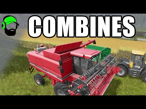 Farming Simulator 17 Courseplay Tutorial - Combine Self Unloading
