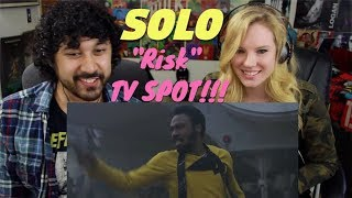 """SOLO: A STAR WARS STORY """"Risk"""" TV SPOT - REACTION!!!"""