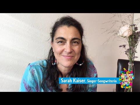 """Sarah Kaiser ist Botschafterin von """"Deutschland singt"""""""