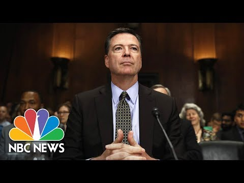 Former FBI Director James Comey Testifies Before Senate (Ful