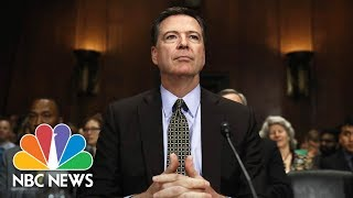 connectYoutube - Former FBI Director James Comey Testifies Before Senate (Full) | NBC News