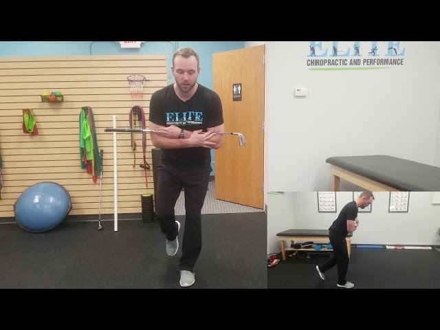 Golf Hip Exercise | Stork Turns | Chesterfield Chiropractor