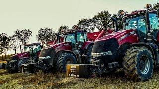 Największe mokre żniwa w Polsce z maszynami Case IH 2016! 10x Case! 3x Steyr! Mirtrans | CaseTeam