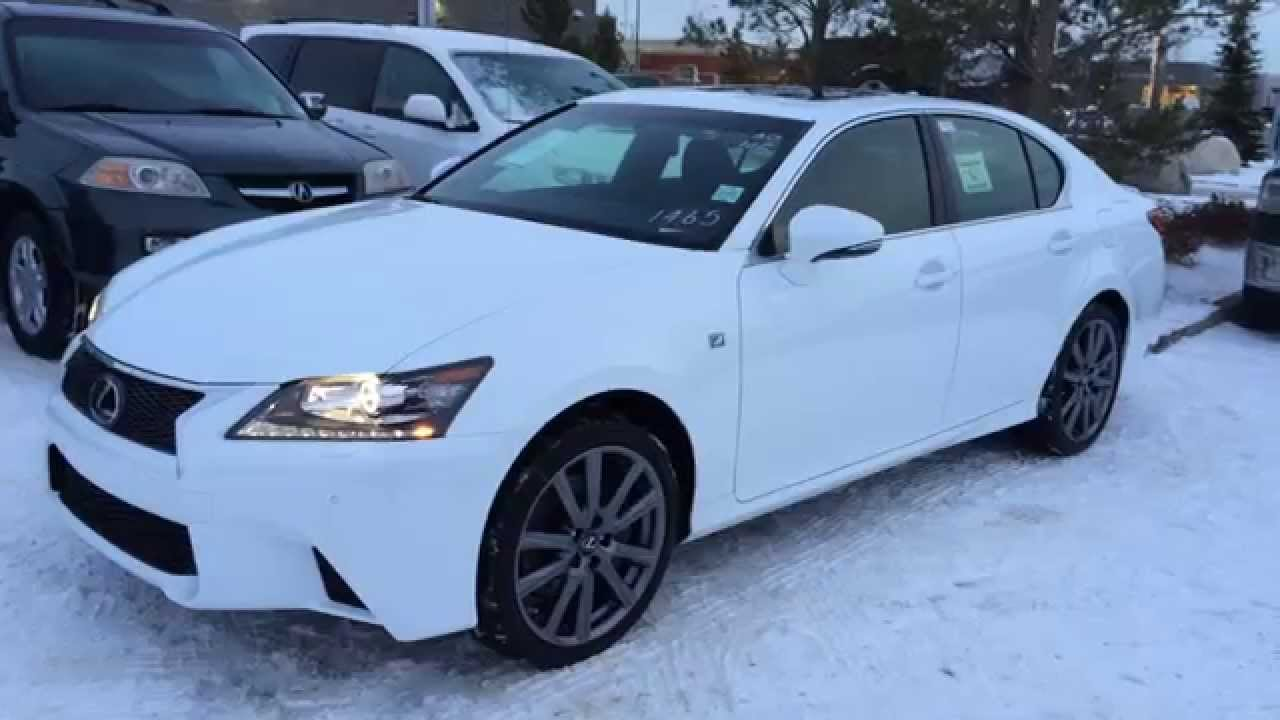 New Ultra White 2015 Lexus GS 350 AWD F Sport Series 2 Review .