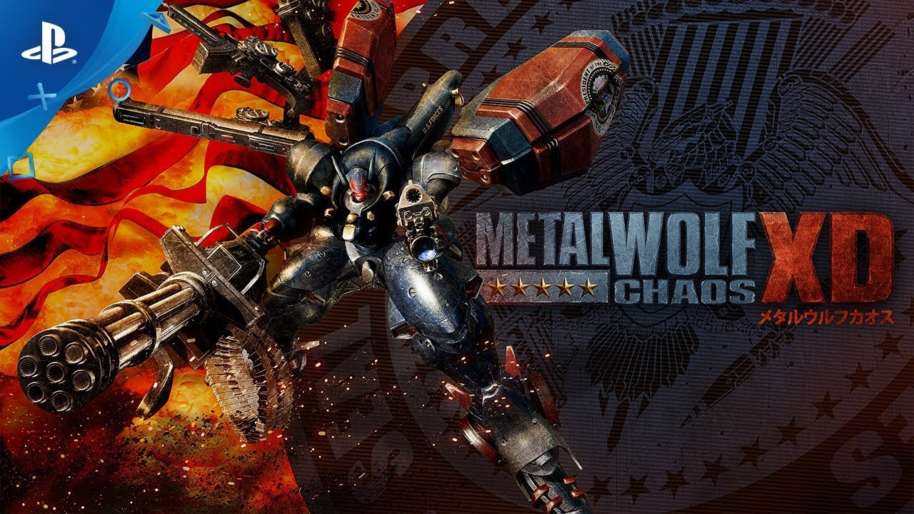 Metal Wolf Chaos XD - Gameplay Trailer | PS4